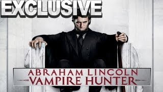 EXCLUSIVE Abraham Lincoln: Vampire Hunter - Official Trailer #2