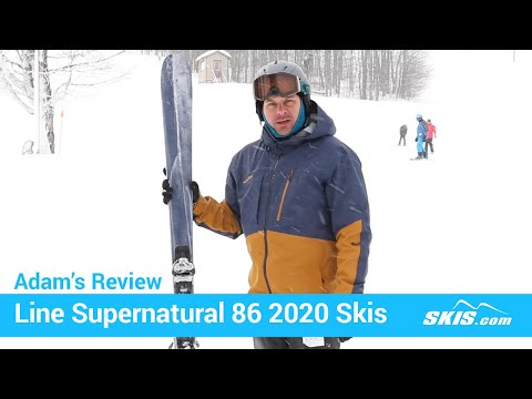 Video: Line Supernatual 86 Skis 2020 1 40