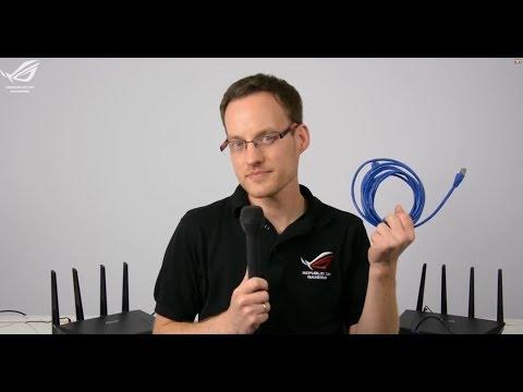 ASUS RT AC87U  Der schnellste WLAN Router der Welt