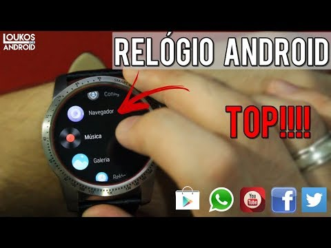 Melhor SMARTWATCH Android - AllCall W1 ‹LOUKOS POR ANDROID›