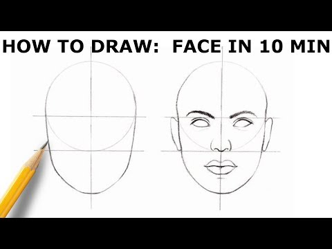 HOW TO DRAW: FACE   Basic Proportion