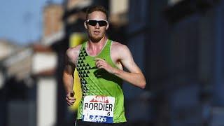 Albi 2020 : 10 km marche M (Gabriel Bordier en 39'17'')