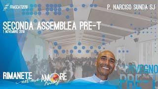 RIMANETE NEL MIO AMORE – Gv 8, 1-11 – Seconda Assemblea Convegno PRE-T, P. Narciso Sunda SJ