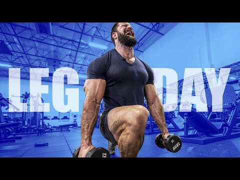 Dumbbell Leg Workout For MAX GROWTH!