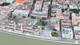 Szifon.com: Budapest Flyover Apple Maps 3D
