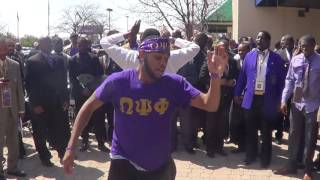 Omega Psi Phi Talented 10th District Hop and Cadillac Hop