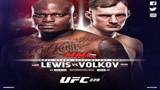 UFC 229: Александр Волков против Дерека Льюиса