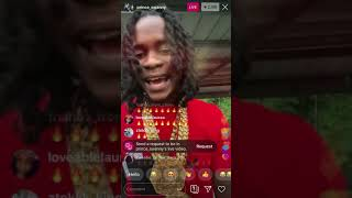 Prince Swanny went live on instagram dissing rebel sixx🇹🇹