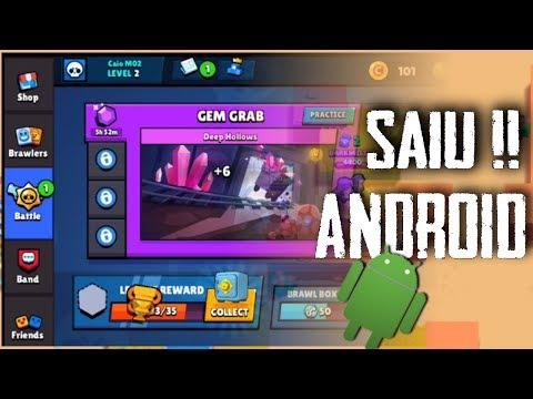 SAIU!! BRAWL STARS PARA QUALQUER CELULAR ANDROID. #2 (Gameplay)