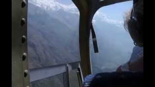 preview picture of video 'View from a Helicopter at Langtang, Nepal'