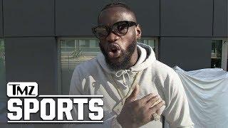 Deontay Wilder Says Floyd Mayweather Is A Jealous Hater   TMZ Sports