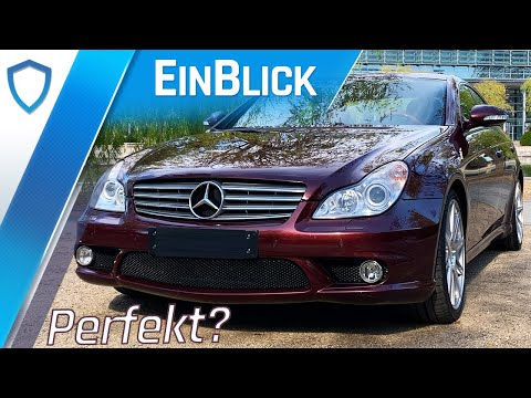 Mercedes-Benz CLS 500 (2006) - Mit V8 und einmaliger Konfiguration noch immer ein Trendsetter!