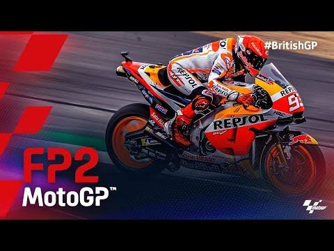 MotoGP 2021 第12戦イギリス FP2ハイライト動画