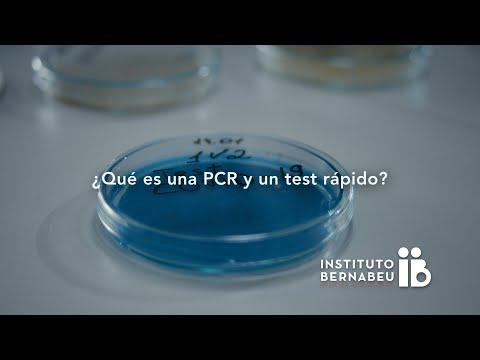 Covid-19 - ¿Qué es una PCR y un test rápido?