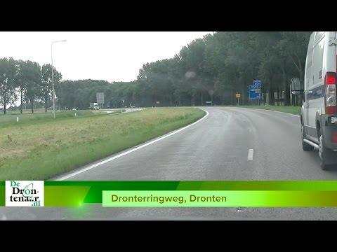 Wethouder Verlaan gaat zich hard maken voor fietspad langs Dronterringweg