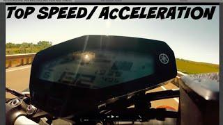 Fz09 Top Speed