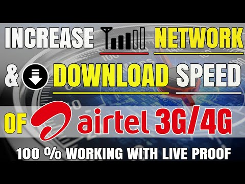 How to increase Network strength & Download Speed of Airtel