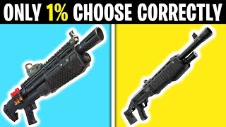 7 *WORST* Decisions You Can Make In Fortnite!
