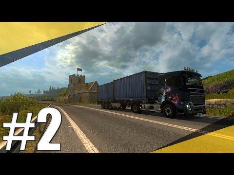 Euro Truck Simulator 2 ProMods   Gorzów Wielkopolski-Wick (1617 km)   Timelapse   CZ/SK