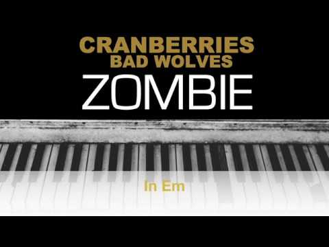 Download The Cranberries - Zombie Bad Wolves Karaoke Chords Instrumental Acoustic Piano Cover Lyrics Mp4 HD Video and MP3