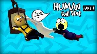 Crazy Funny Mission | Human Fall Flat - Episode 1 | Angry Prash