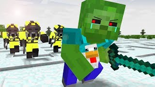 Zombie Life 1 4   Craftronix Minecraft Animation