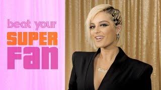 Bebe Rexha Sings Against Her Superfan | Beat Your Superfan