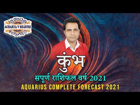 Aquarius Complete Horoscope 2021 - कुंभ राशि - सपूर्ण राशिफल वर्ष 2021