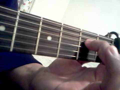Cmaj Guitar Chord