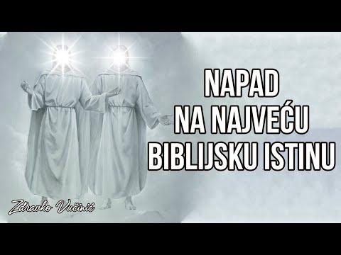 Zdravko Vučinić: Napad na najveću biblijsku istinu