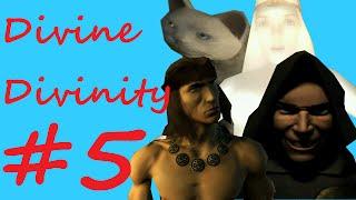 Divine Divinity #5 Skeletal gang-bang