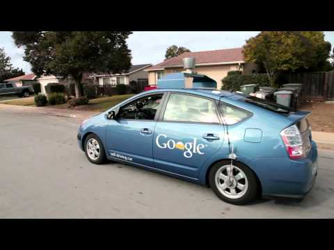 Test de auto-conducción de Steve Mahan, el coche sin conductor