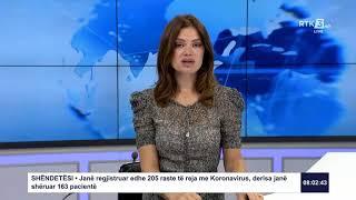 RTK3 Lajmet e orës 08:00 13.08.2020