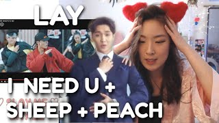 LAY 레이 SHEEP + I NEED YOU + PEACH LIVE Lay Yixing Showcase | ARE YOU MY EXO-LMATE? (Day 11)