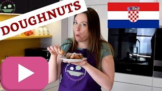 CROATIAN FRITULE | Uštipci | Mini Doughnuts