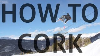How to cork on skis