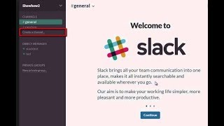How to create Private SLACK EDU Group