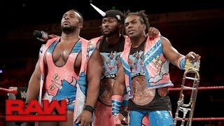 The New Day accuse Gallows & Anderson of wasting the WWE Universe's time: Raw, Sept. 12, 2016