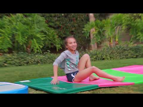 Flipping in to 2018, gymnastics style