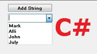 C# Tutorial 10:  How to Link Combobox with Database values