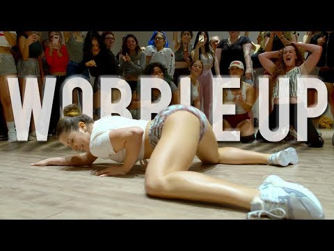 Chris Brown - Wobble Up (Official Video) Ft. Nicki Minaj, G-Eazy / Twerk Dance