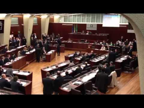 Esito prima votazione in consiglio regionale