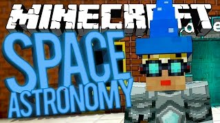 Minecraft Space Astronomy - PINK PARACHUTE! #24 [Modded HQM Survival
