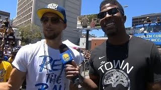 Golden State Warriors - Championship Parade Pt.8 / June 12, 2018
