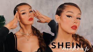 CHEAP MAKEUP ALERT!! TESTING A FULL FACE OF SHEIN MAKEUP