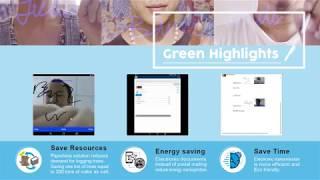 雲想科技『影像電子簽章』!無紙化!高效率電子傳遞文件!大幅降低環境污染!