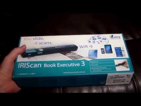 IRIScan Book Executive 3 Portable Document Scanner
