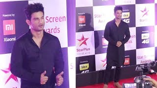 Kedarnath Hero Sushant Singh Rajput At Star Screen Awards 2018