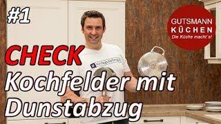 Kochfeldabzug I Muldenlüfter im Check - Oranier KFL2094 und Miele KMDA 7774-1 FL