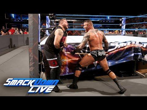 Randy Orton vs. Kevin Owens - No Disqualification Match: SmackDown LIVE, Nov. 28, 2017